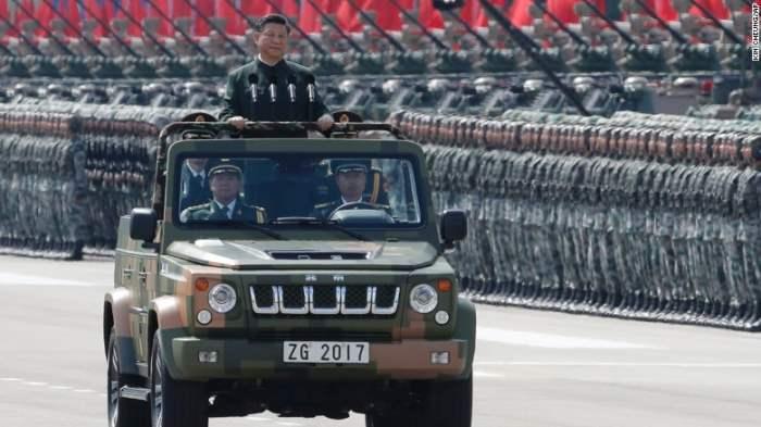 Китай военный парад