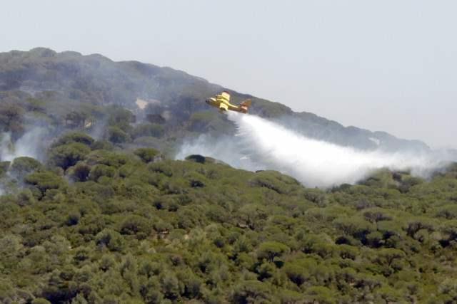 Корсика лесные пожары