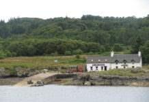 Остров Алва Шотландия
