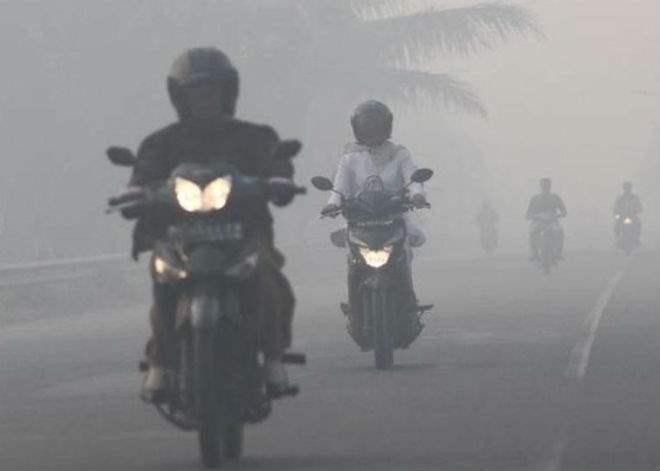Пожары индонезия