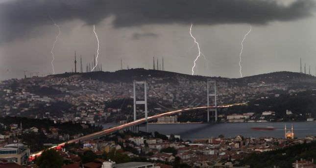 Стамбул,дождь,хаос,Турция
