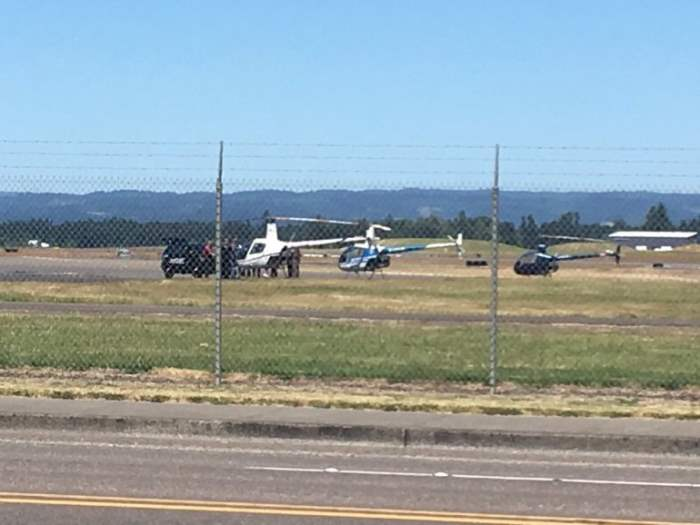 Угон вертолета Орегон
