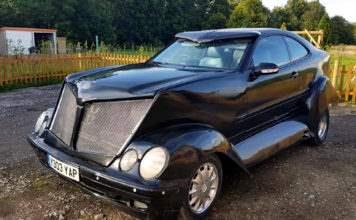 Уродливый Mercedes-Benz