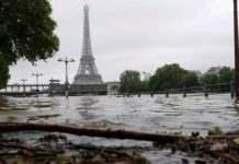 Франция дождь