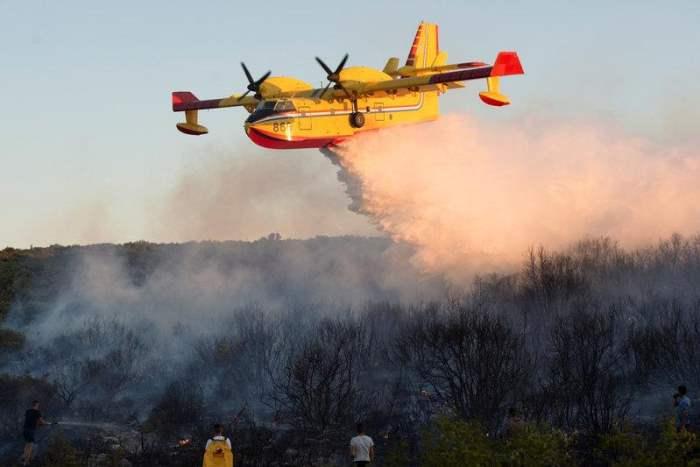 пожары Черногория
