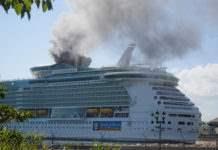 пожар на круизном судне