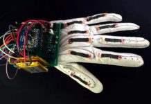 смарт перчатка