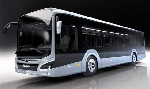 MAN представил городской автобус нового поколения