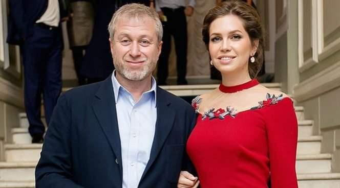 Абрамович и Даша Жукова