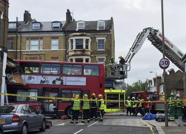 Двухэтажный автобус Лондон