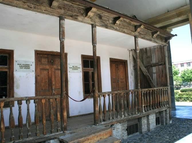 Дом в котором родился Сталин