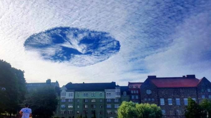 Дыра в небе Финляндия