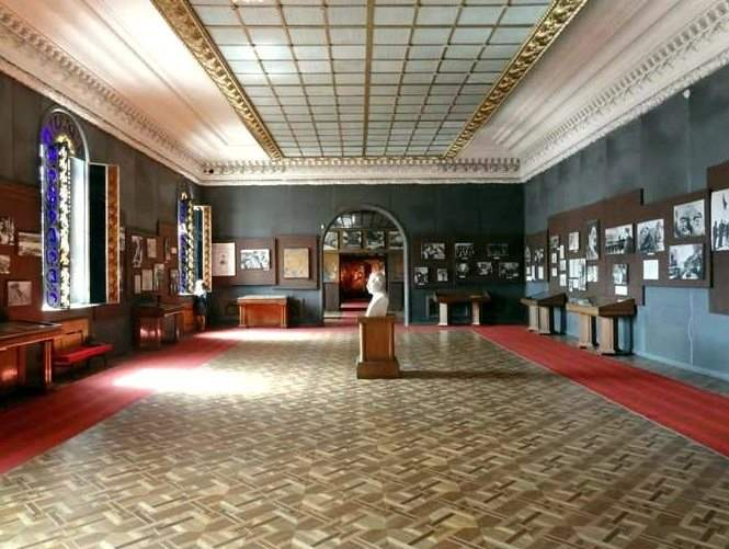Зал в музее Сталина