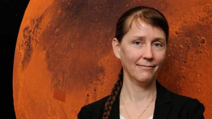 Катарина Конли, единственный планетарный защитник НАСА