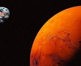 Марс ночь