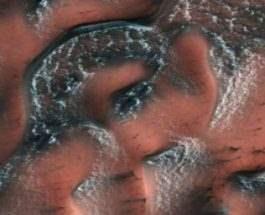 Марс снег