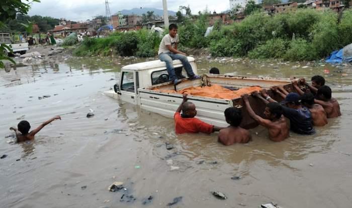 Непал наводнение