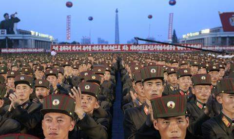 Ополчение Северная Корея