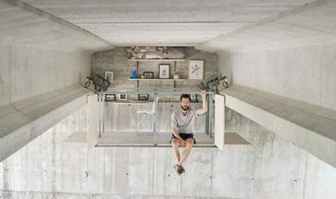 Офис под мостом
