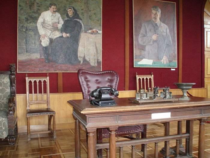 Рабочий кабинет Сталина