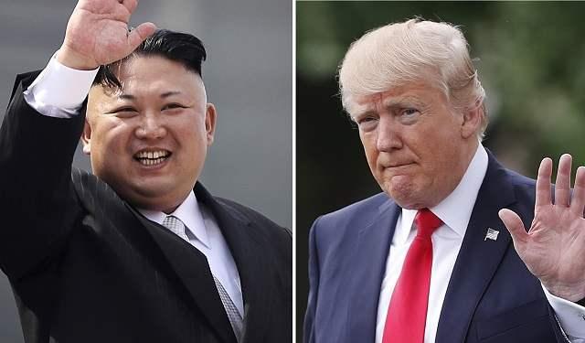 Дональд Трамп и Кич Чен Ын