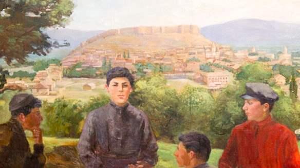 Сталин в юности на Горисцихе