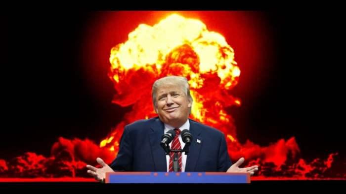 Трамп взрыв