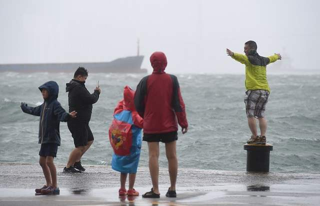 CHINA-HONG KONG-TYPHOON HATO (CN)