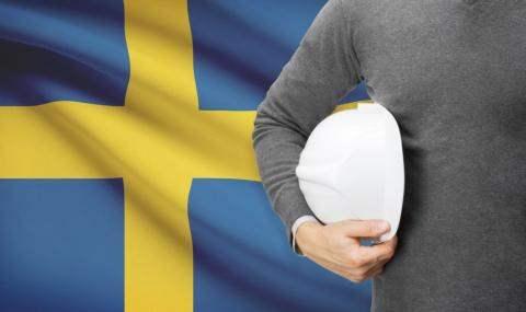 Швеция безработица