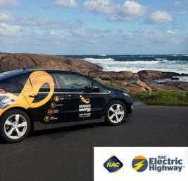 Шоссе для электрокаров в Австралии