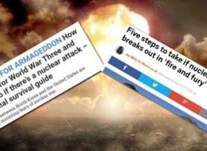Британские газеты The Sun и Metro подготавливают людей к ядерной войне