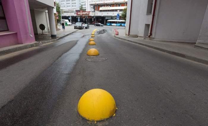 бетонные полусферы