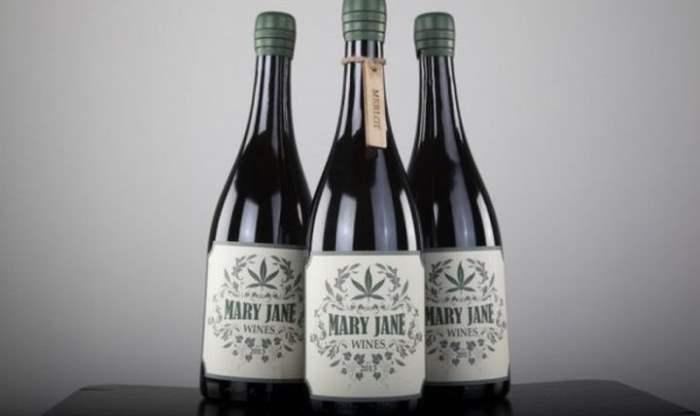 вино с марихуной