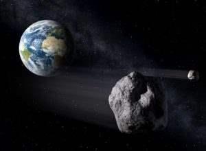 Астероид угрожает Земле. 12 октября он пролетит в близости от планеты.