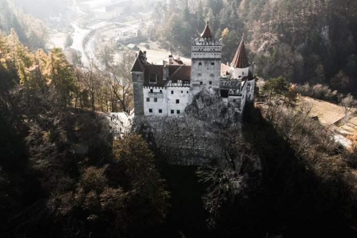 Замок Дракулы Бран, Румыния.