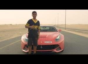 Ferrari для 15-и летнего подростка – вполне обычно для Дубая