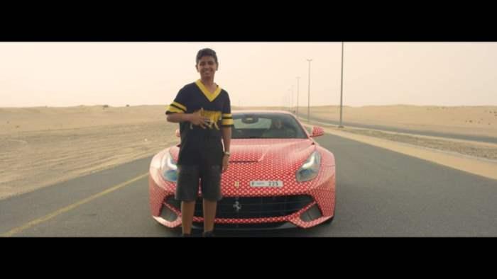 Ferrari для 15-и летнего подростка - вполне обычно для Дубая
