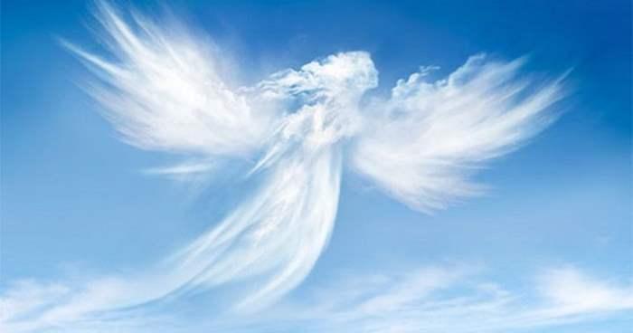 Ангел в небе
