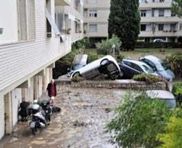 Италия Наводнение Тоскана