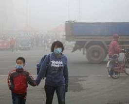 Китай загрязнение воздуха
