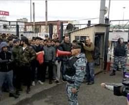 Москва драка с мигрантами