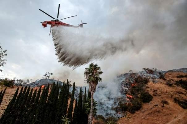 Пожары Лос-Анджелес