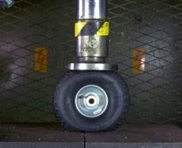 Пресс и колесо