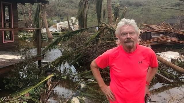 Ричард Брэнсон ураган Ирма