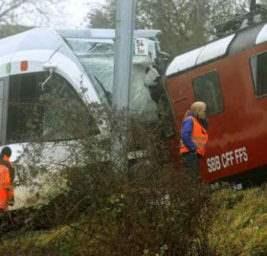 Швейцария поезда