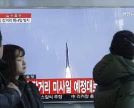Южная Корея запуск ракет