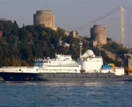 Янтарь судно