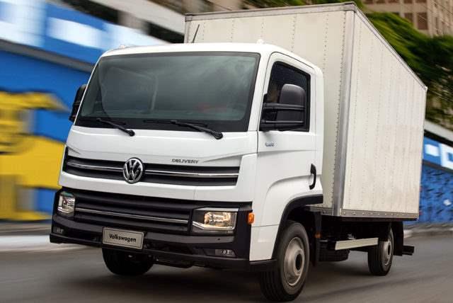 новый грузовик Volkswagen