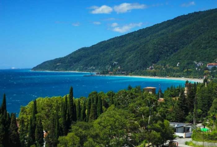 Абхазия море