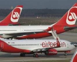 Air Berlin,пилоты заболели